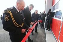 Slavnostní otevření nové hasičské zbrojnice v Lovosicích.