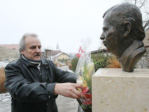 První výročí úmrtí Václava Havla v Litoměřicích.