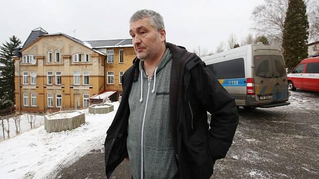 Vedoucí domova Kavkaz Petr Vagaši.