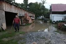 Blesková povodeň zasáhla Vinné