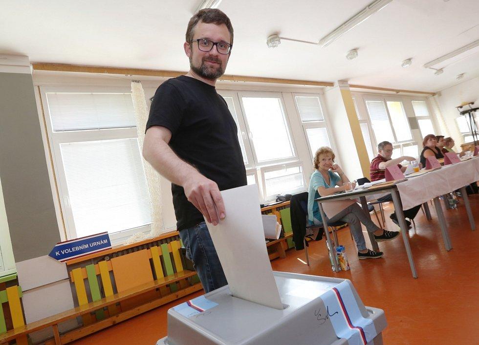 Mikuláš Peksa, kandidát č 3 za Piráty do Europarlamentu