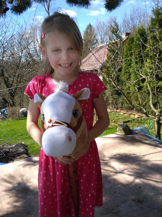 4. Evelyn Dokoupilová - 6 let, Litoměřice.