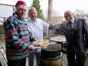 V Krušovické pivnici v Litoměřicích budou znovu vařit tradiční maďarskou kapustnici