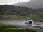 Na Red Bull Ringu se jezdily tréninky za deště.