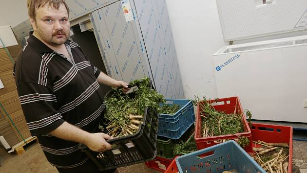 Z národní potravinové banky se expeduje ke klientům i zelenina.