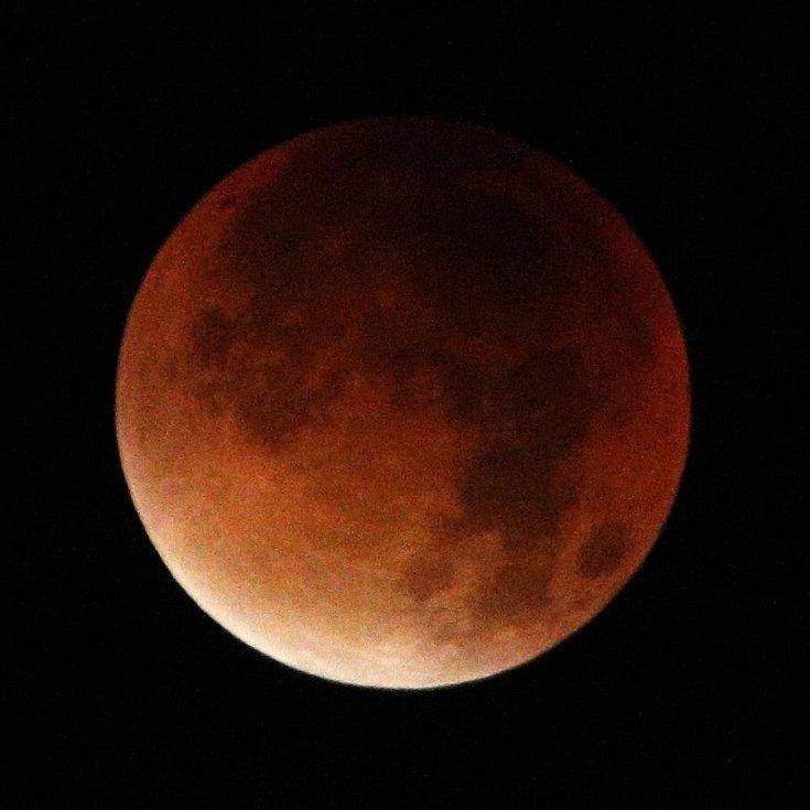 Takzvaný krvavý Měsíc