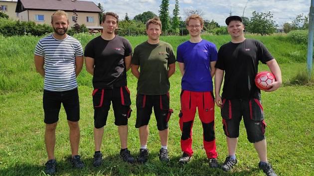 Schoeller Křešice se opírá o několik bývalých fotbalistů.