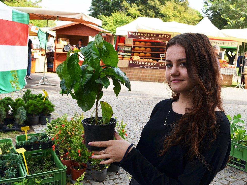 Poslední den veletrhu Zahrada Čech 2021 v Litoměřicích
