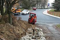 Správa a údržba silnic Ústeckého kraje (SUS) opraví dvě komunikace na Holoubkově