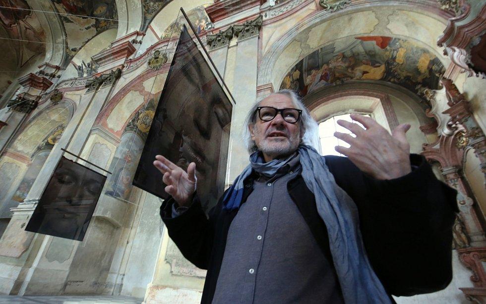 Fotograf Pavel Mára představí velkoformátové fotografie v bývalém jezuitském kostele Zvěstování Panně Marii v Litoměřicích