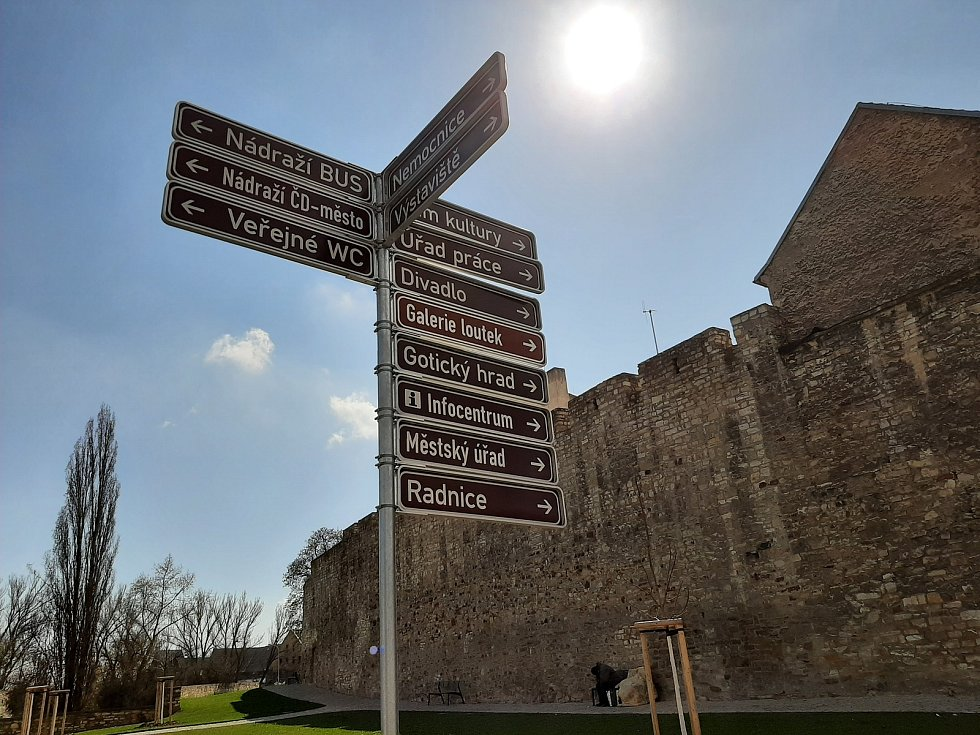 Co je nového v Litoměřicích - Cesta z nádraží na náměstí