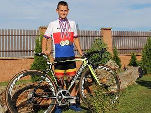 Cyklista Martin Čepek získal dvě zlaté