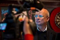 Natáčení dokumentu s Michalem Horáčkem.