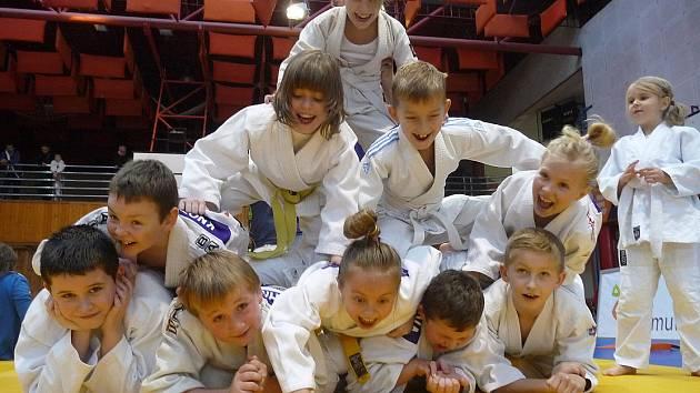 V CHOMUTOVĚ se mladým závodníkům Litokanu Litoměřice dařilo. Přivezli si jedenáct medailí.