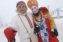 Karneval na svahu v Malečově.