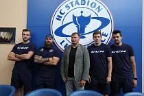Zleva: Martin Procházka, Jan Výtisk, Daniel Sadil, Jan Holý, Patrik Miškář