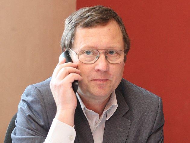 Nový ředitel litoměřického gymnázia Miloš Štyks.