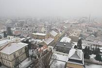 Smog v Litoměřicích, ilustrační foto.
