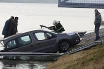 Nehoda na račickém kanále.