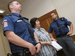 LENKA MARTINÁKOVÁ si odnesla od soudu trest odnětí svobody na 14 měsíců.