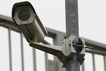 Bezpečnostní kamera, ilustrační foto.