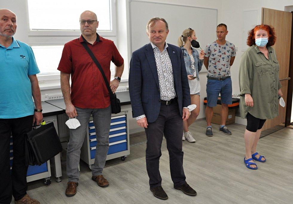 Základní škola Na Valech v Litoměřicích, místostarosta Karel Krejza