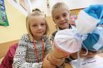 Začal nový školní rok. Masarykova škola v Litoměřicích přivítala nové prvňáky.