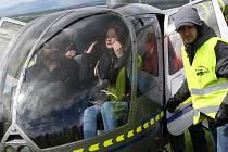 Vyhlídkové lety na Řípské pouti 2017