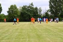 Oslavy fotbalu v Bříze na Litoměřicku