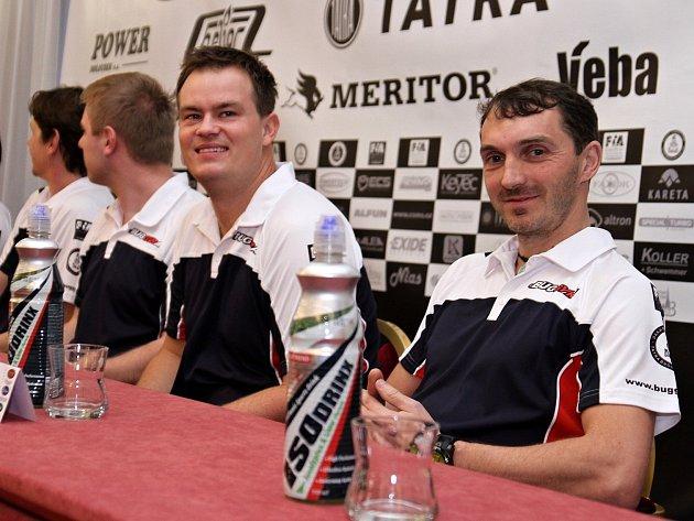 Nová dvojice pilotů Buggyry Adam Lacko (vlevo) a David Vršecký.
