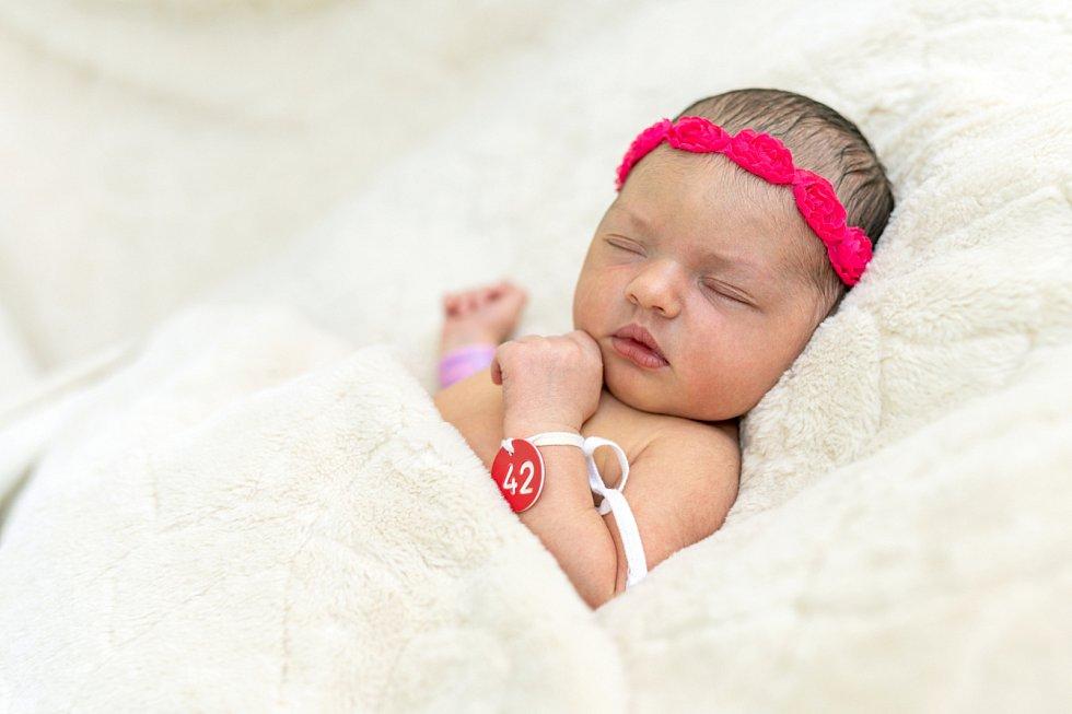 Amélie Gajdošová se narodila Aleně a Adamovi Gajdošovým z Prahy 9. září ve 14.10 hodin v Roudnici n. L. (52 cm a 3,6 kg).