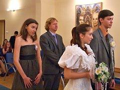 Školní svatba na litoměřické ZŠ U Stadionu