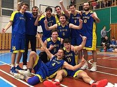 Basketbalisté Slavoje Litoměřice B.