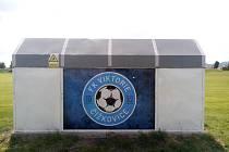 Fotbalisté v Čížkovicích renovovali areál.