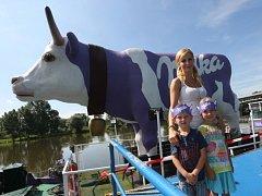 Loď Milka v Litoměřicích