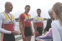 Předávání medailí