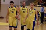 Basketbalisté Slavoje Litoměřice (ilustrační foto).