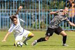 Fotbalová příprava Slaný (v bílém) - Brozany.