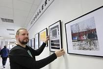 Fotograf a učitel Jan Kacar vystavuje v litoměřické nemocnici