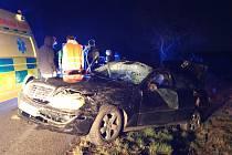 Dopravní nehoda u Solan se stala v pondělí 18. března před 21. hodinou.