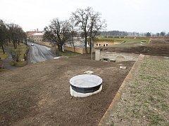 Další část terezínské pevnosti prošla opravou