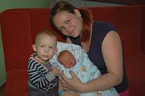 Adéle Mikyskové a Nikolovi Beranovi z Litoměřic se 22. dubna v 8.55 hodin narodil v Litoměřicích syn  Nikolas Beran (52 cm, 4,47 kg).