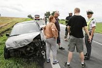 Nehoda u Ploskovic.