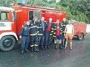 Z archivu hrobeckých hasičů...