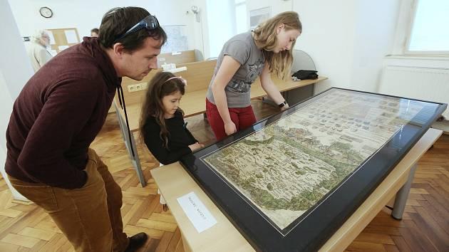 Ve studovně Státního oblastního archivu v Litoměřicích byla na jeden den vystavena Klaudyánova mapa, která slaví letos 500 let od vzniku. Mapu mohli zhlédnout nejenom účastníci konference, ale i zájemci z řad veřejnosti.