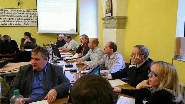 Mimořádné zasedání litoměřického zstupitelstva
