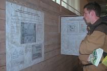 Unikátní výstava stavebních plánů a dokumentace židovské samosprávy v terezínském ghettu, otevřená ve foyeru kina Muzea ghetta, přináší řadu nových historických  pohledů.