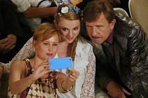 V litoměřickém divadle v pátek filmoval nejen Petr Nárožný. V dalších dnech budou filmaři například před ZŠ Boženy Němcové.