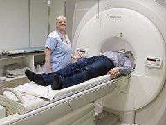 Slavnostní zahájení provozu magnetické rezonance v Městské nemocnici v Litoměřicích.