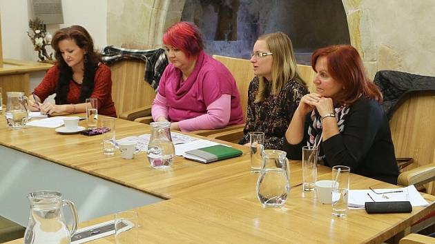 Tisková konference k ukončení turistické sezony v Litoměřicích proběhla ve zdejším hradu